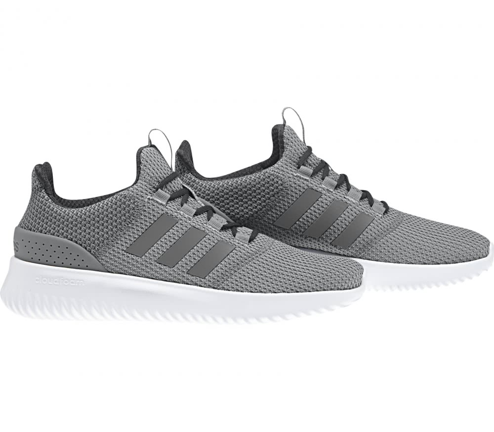 adidas cloudfoam men's grey