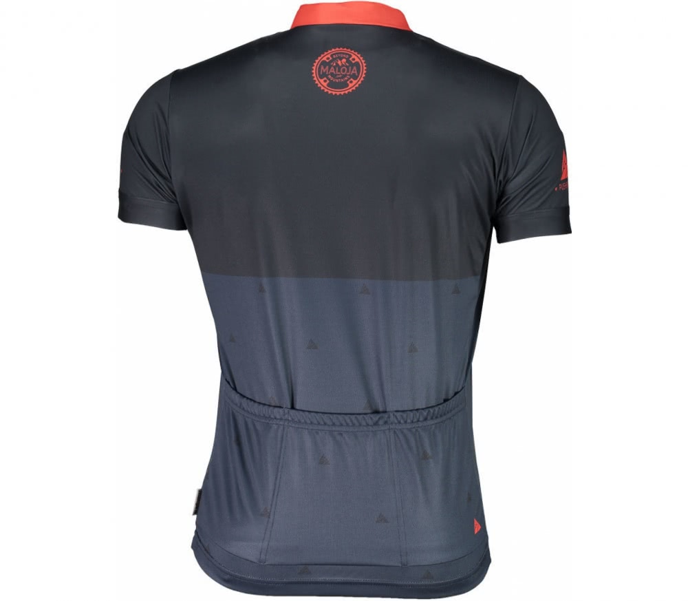 Maloja - PushbikersM. 1/2 men's Bike jersey (blue)