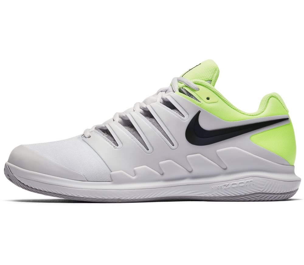 Nike - Air Zoom Vapor X Clay Children tennis shoes (grey/yellow)