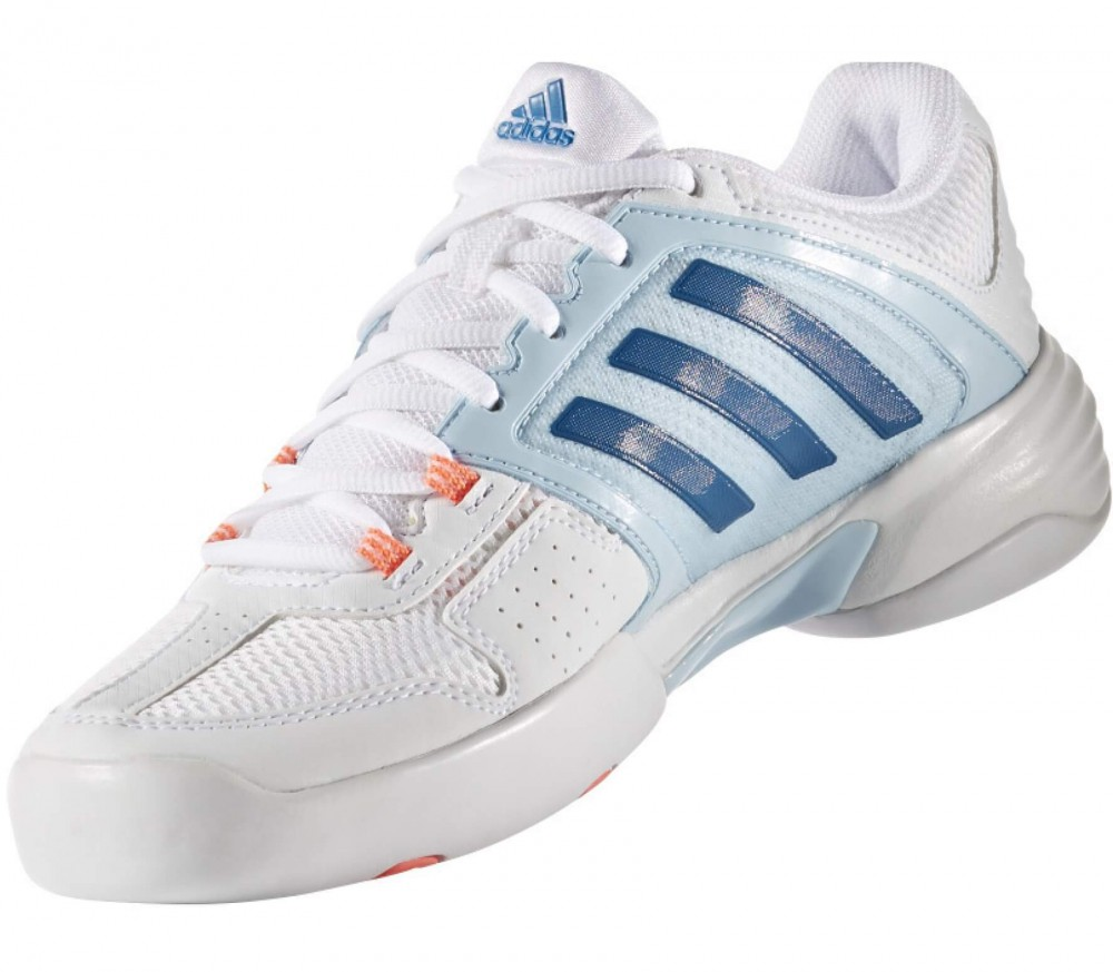 Adidas - Barricade Club CPT women's tennis shoes (white/pink)