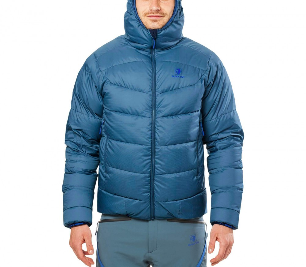 BLACKYAK - Hooded Active Down Menu0026#39;s Down Jacket (blue) - Buy It At The Keller Sports Online Shop