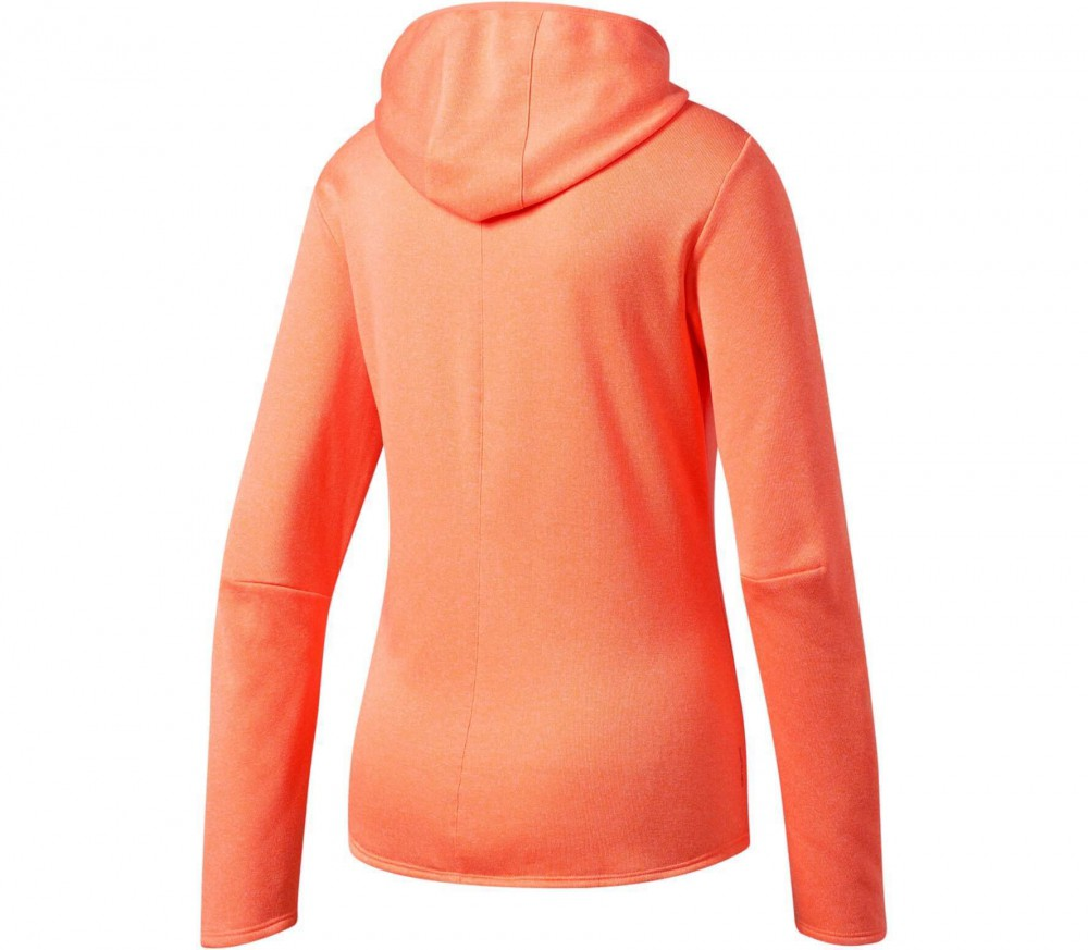 Adidas - Response women's running hoodie (orange)