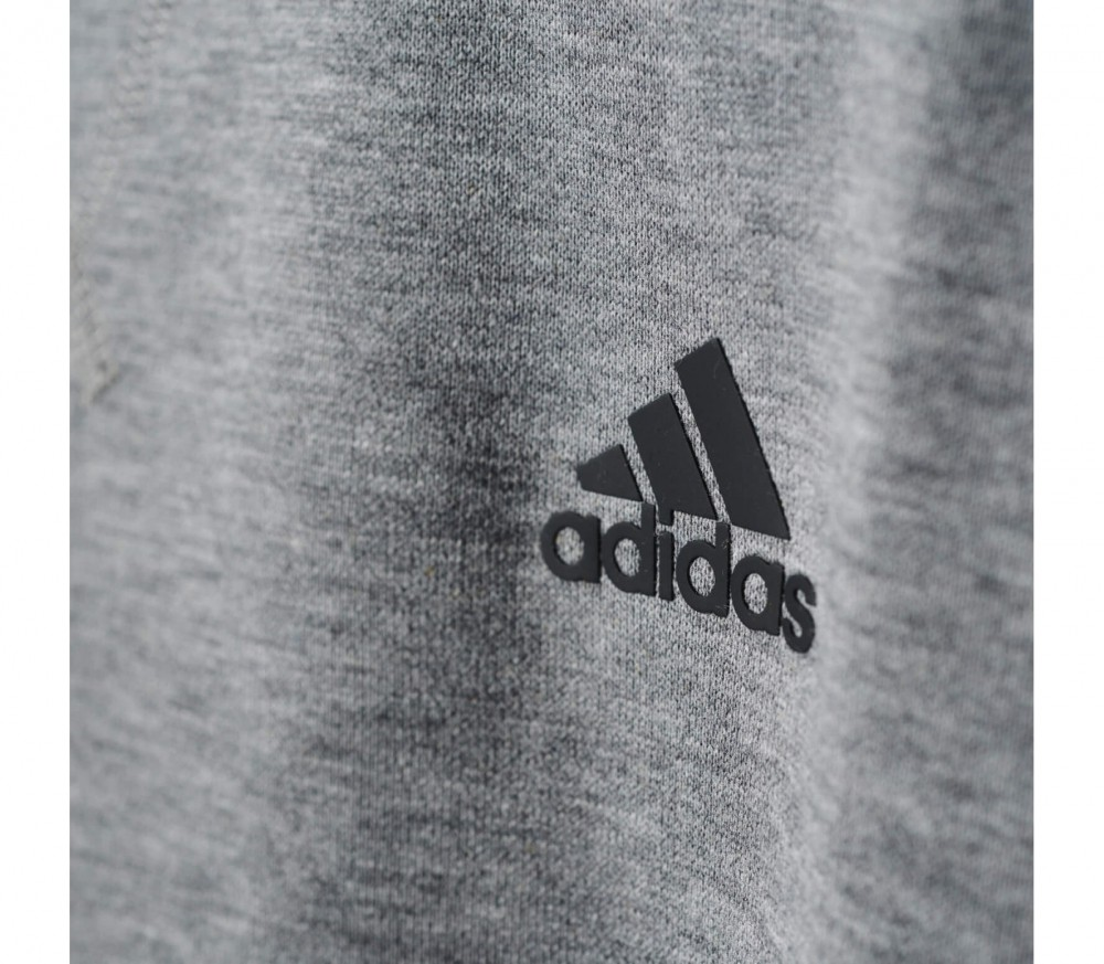 adidas essentials 3s crew men 39 s training pullover grey buy it at the keller sports online shop. Black Bedroom Furniture Sets. Home Design Ideas