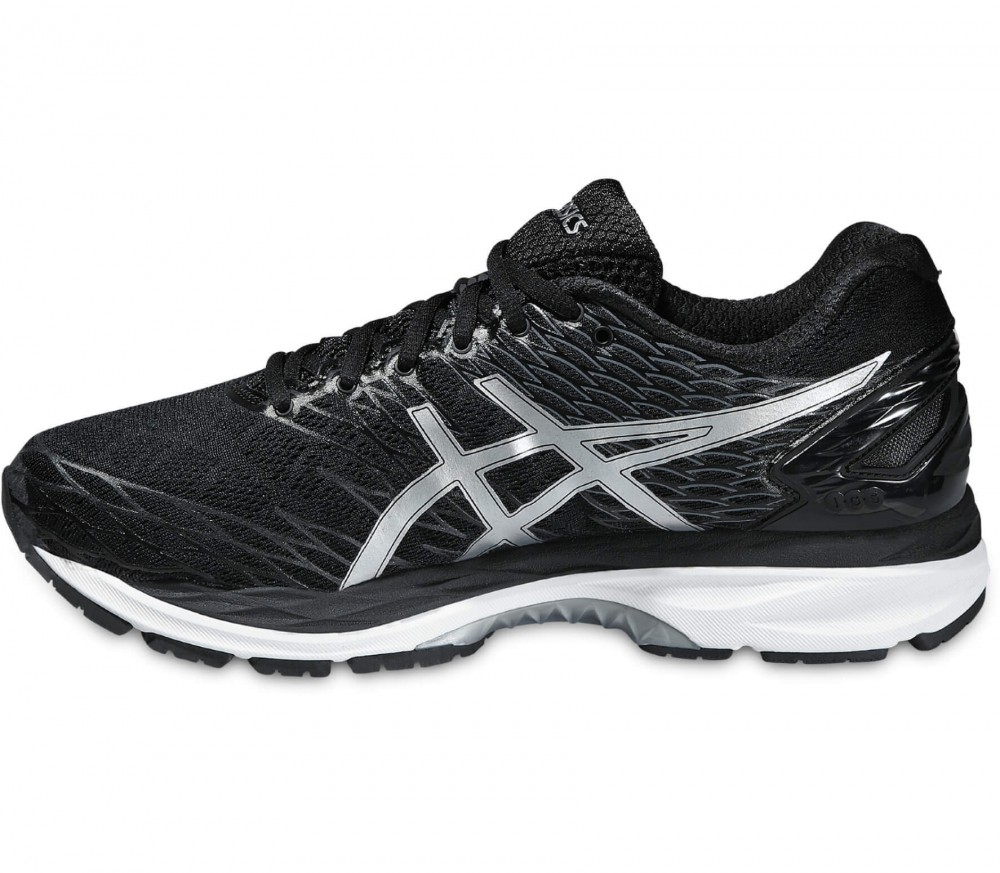 Asics - Gel-Nimbus 18 men's running shoes (black/silver)