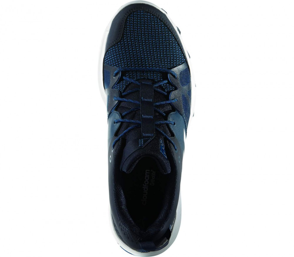Adidas - Kanadia 8 men's training shoes (dark blue/white)