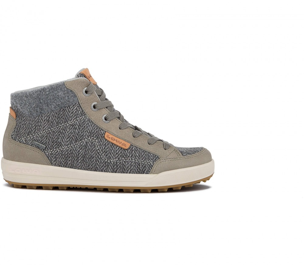 Lowa - Maine GTX QC Ws women's winter shoes (grey/brown)