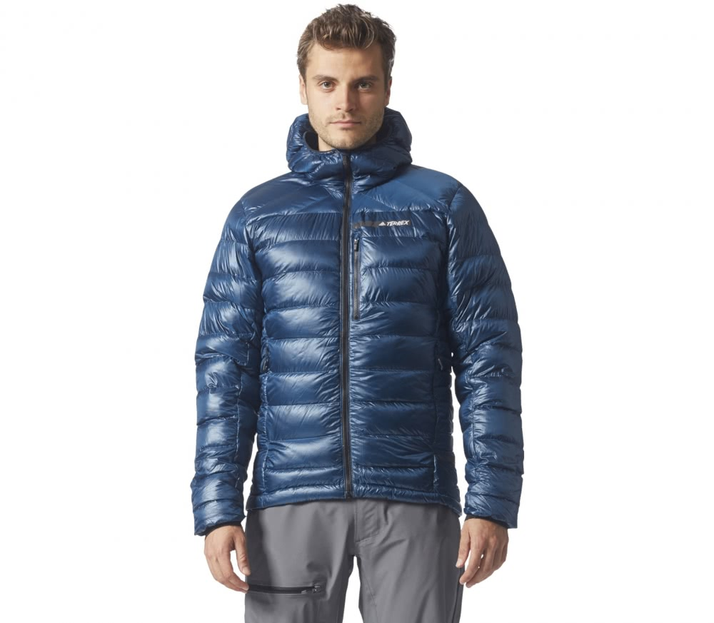 adidas terrex climaheat agravic down men 39 s down jacket. Black Bedroom Furniture Sets. Home Design Ideas
