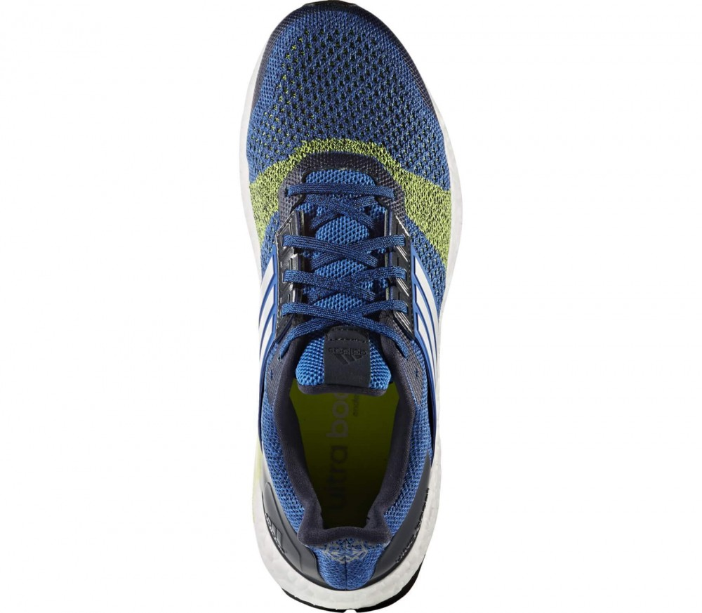 Adidas - Ultra Boost ST men's running shoes (blue-yellow)
