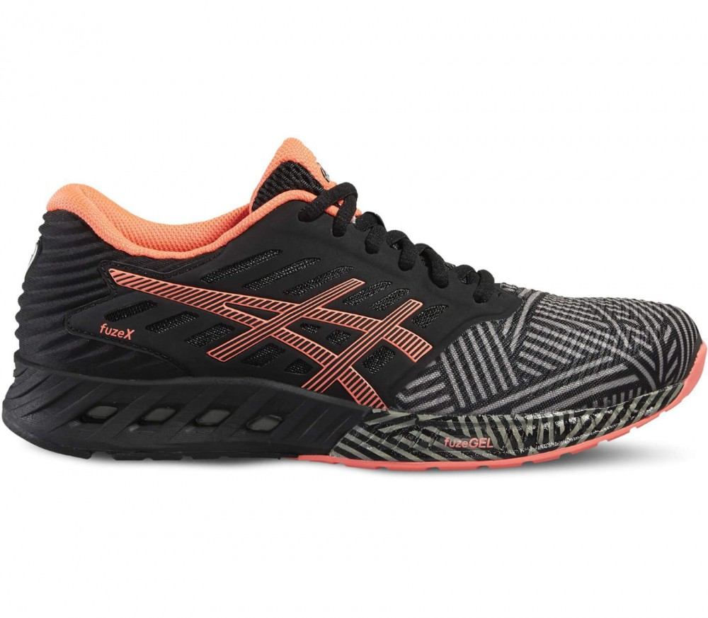 Asics - FuzeX women's running shoes (black/light red)