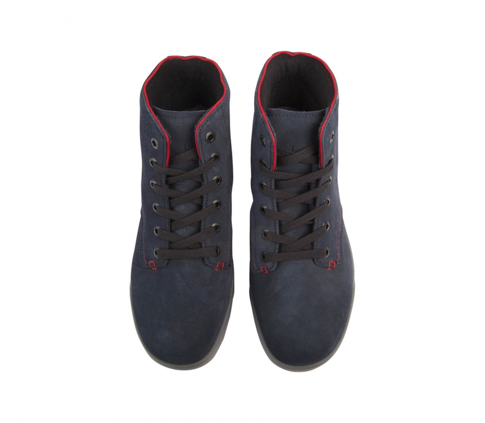 Lowa - Dublin GTX QC men's winter shoes (dark blue/red)
