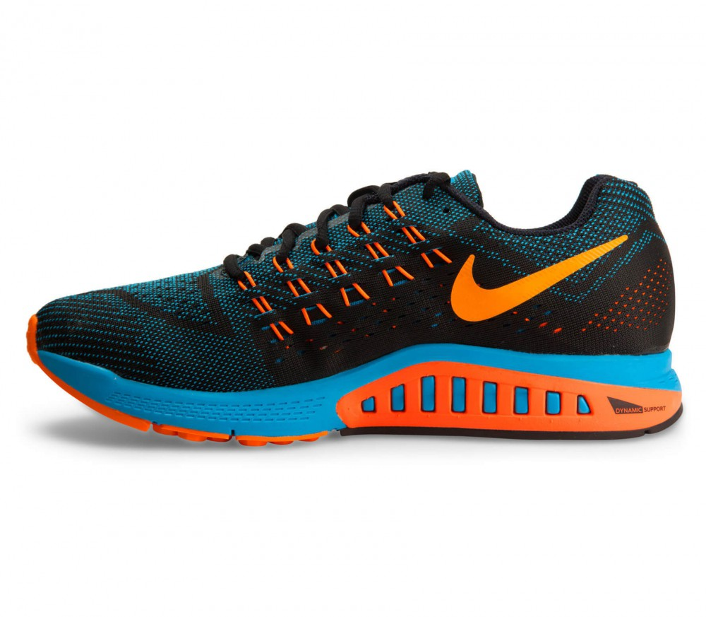 nike air zoom structure 18 men 39 s running shoes blue. Black Bedroom Furniture Sets. Home Design Ideas