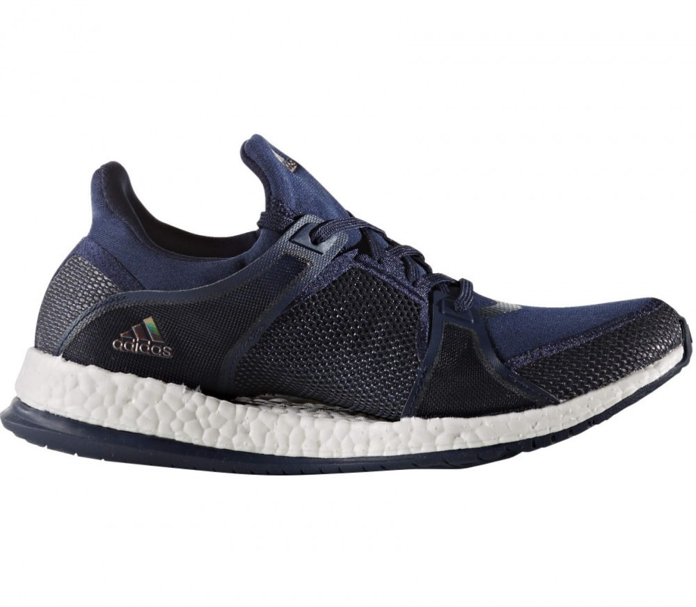 Adidas - Pureboost X women's training shoes (dark blue/white)