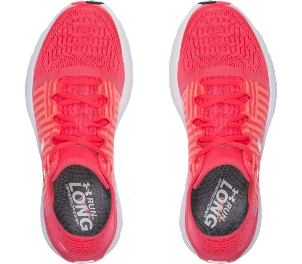 under armour womens running shoes. under armour - speedform gemini 3 women\u0027s running shoes (light red/white) womens