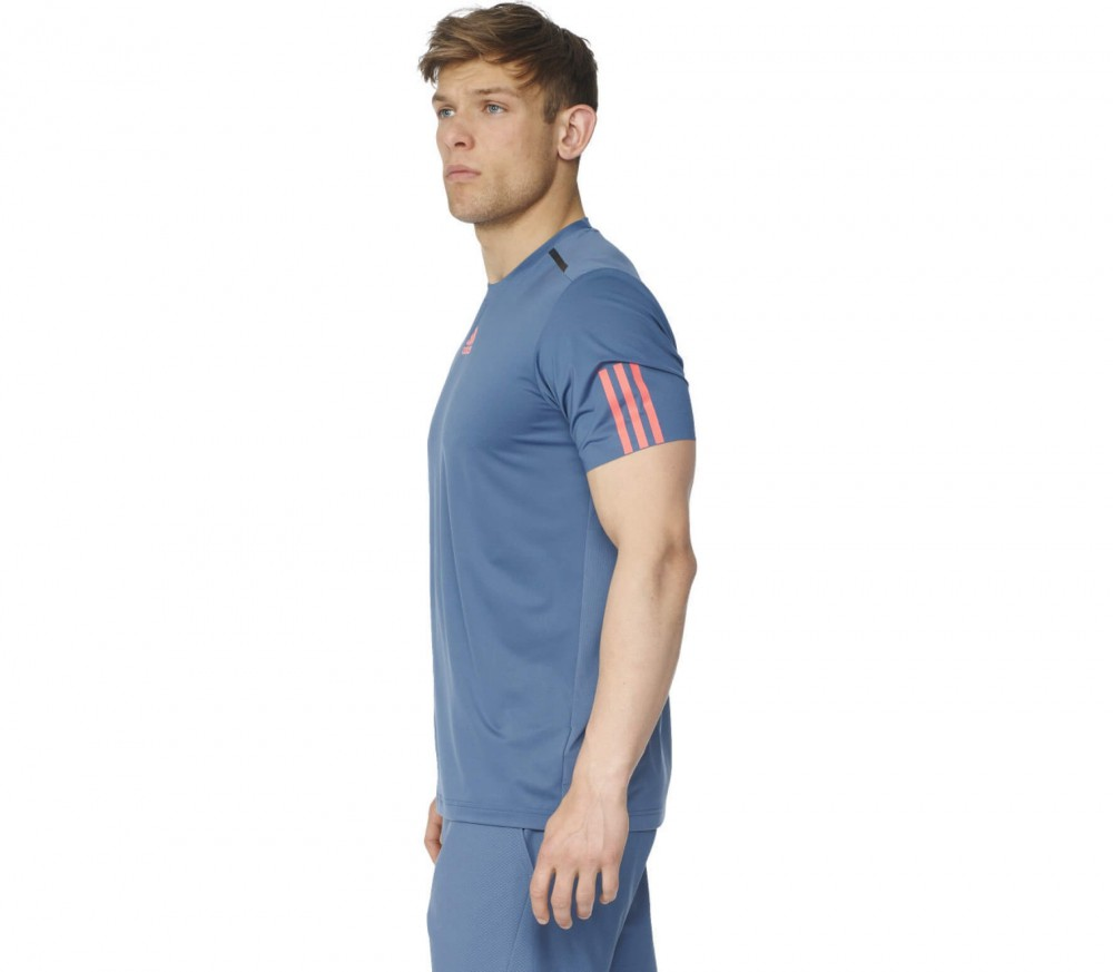 Adidas - Barricade men's tennis top (blue-red)