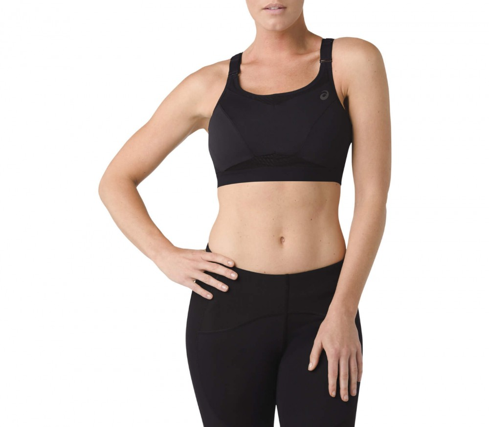Ascis - Zero Distraction women's running bra (black)