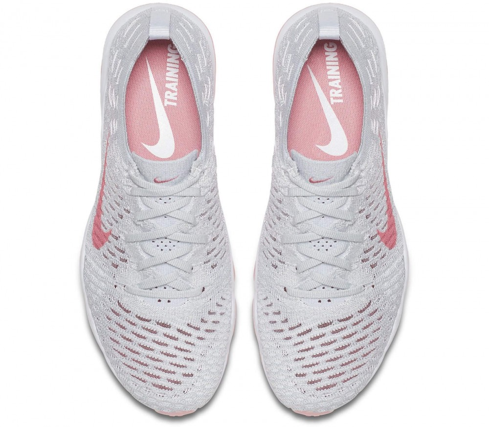 Nike - Air Zoom Fearless Flyknit women\u0027s training shoes (white/pink)