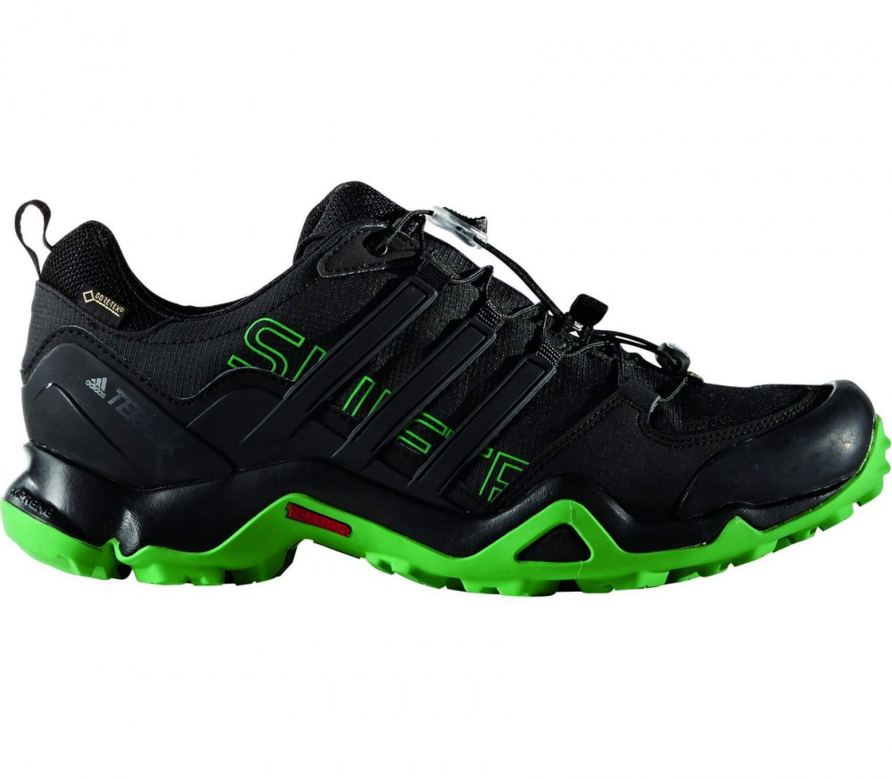 Adidas - Terrex Swift R GTX men's hiking shoes (black/green)