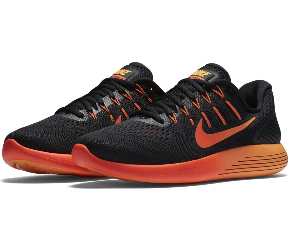 Nike - LunarGlide 8 men's running shoes (black/red)