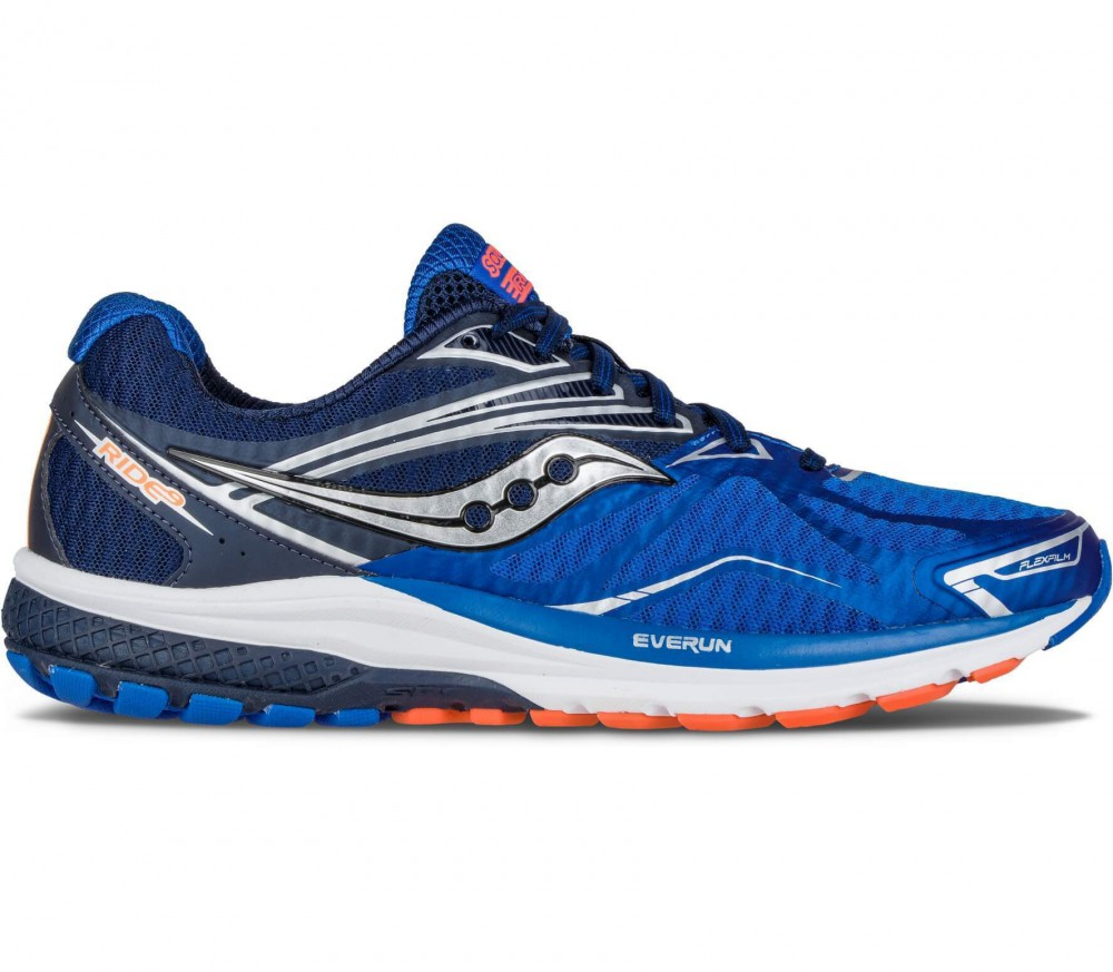 Saucony - Ride 9 men's running shoes (grey/blue)