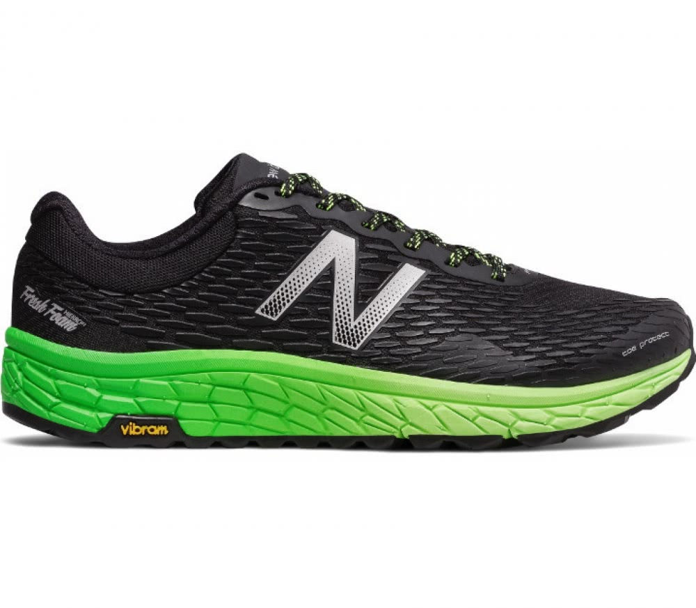 New balance vazee rush v2 mens running shoes black multi online - New Balance Trail Fresh Foam Hierro V2 Men S Running Shoes Black Green