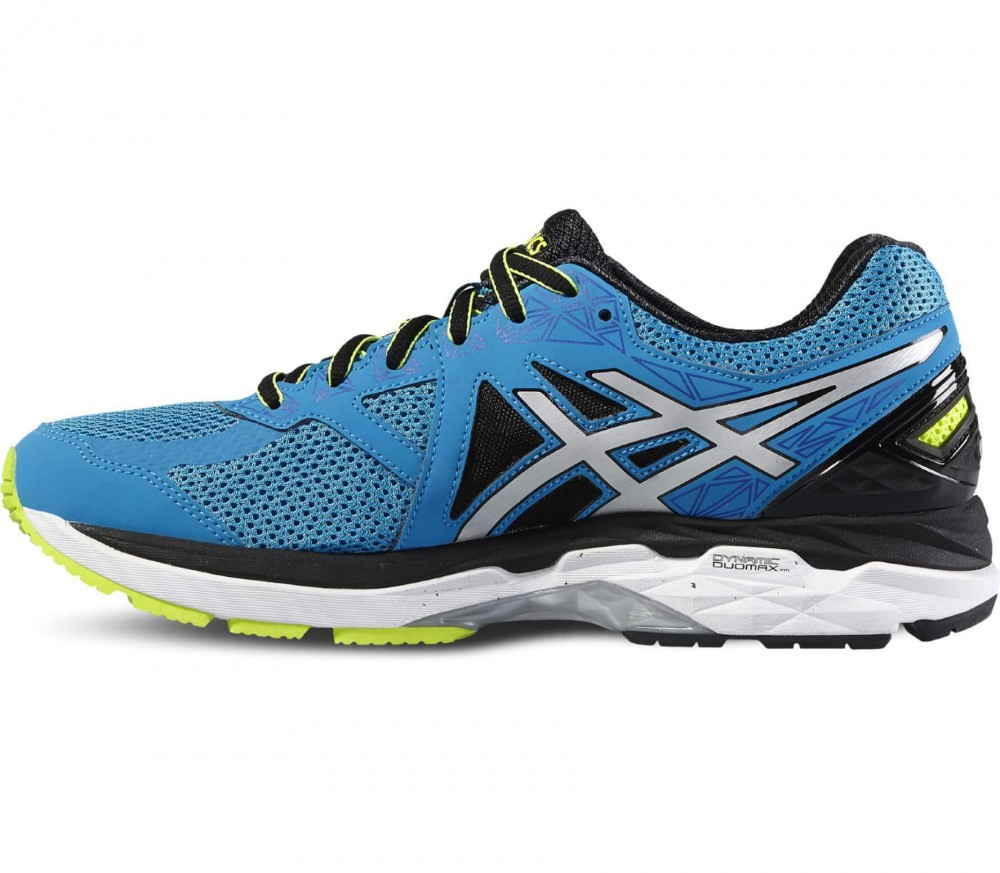 ASICS - GT-2000 4 men's running shoes (light blue/yellow)