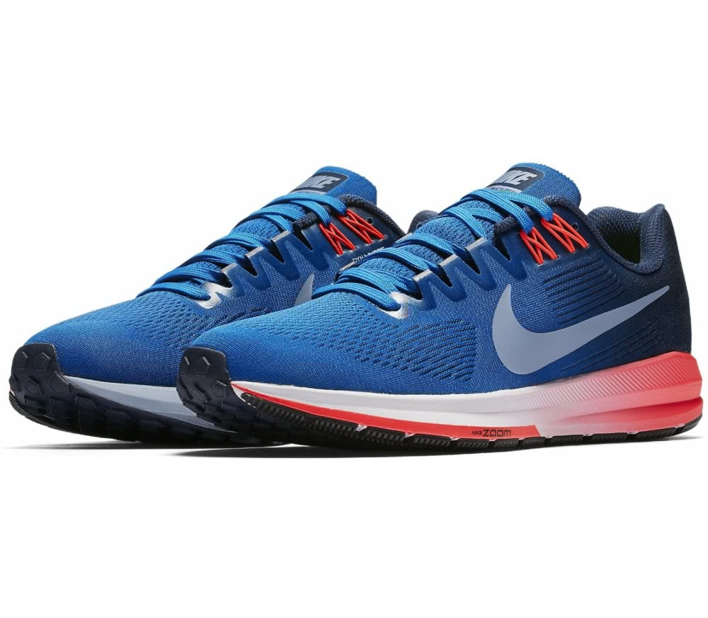 Nike - Air Zoom Structure 21 men's running shoes (blue/grey)