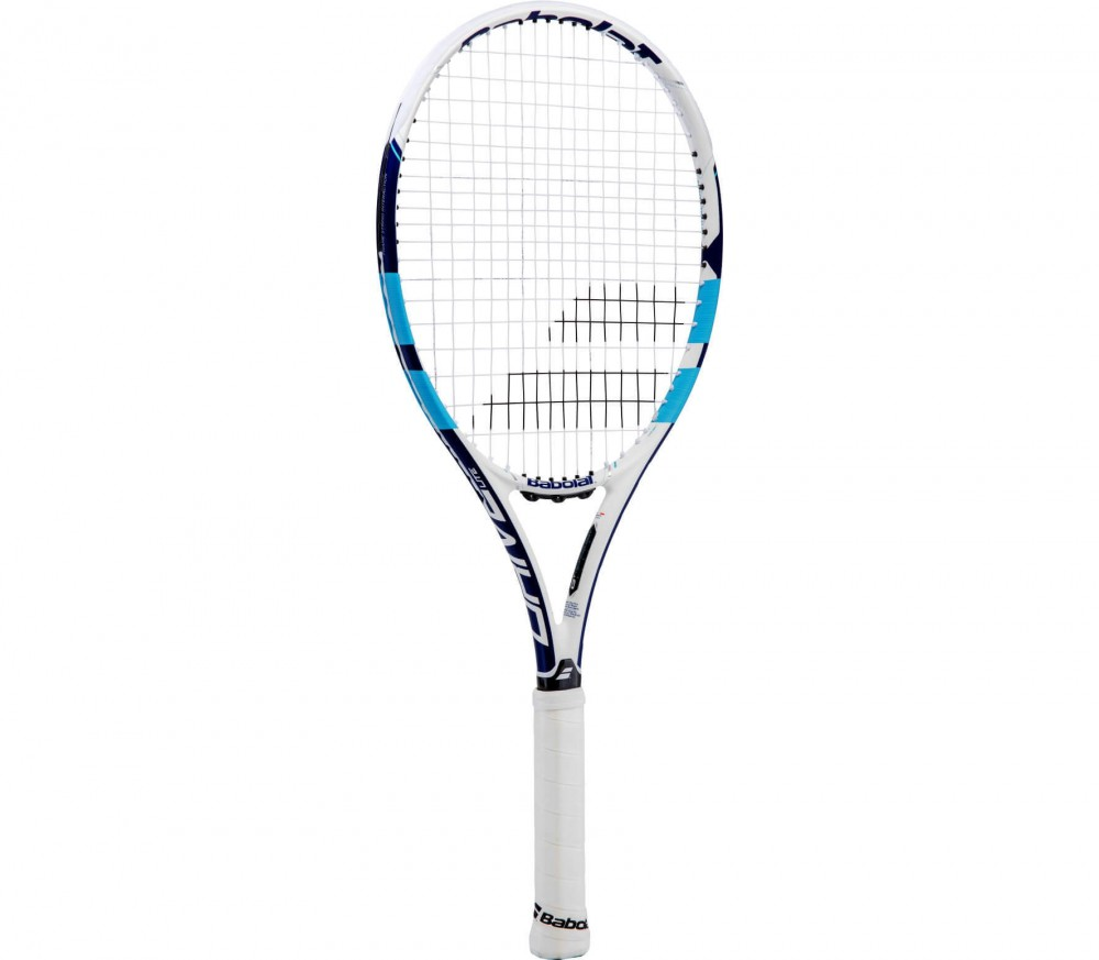 babolat pure drive lite wimbledon unstrung tennis racket white blue buy it at the keller. Black Bedroom Furniture Sets. Home Design Ideas