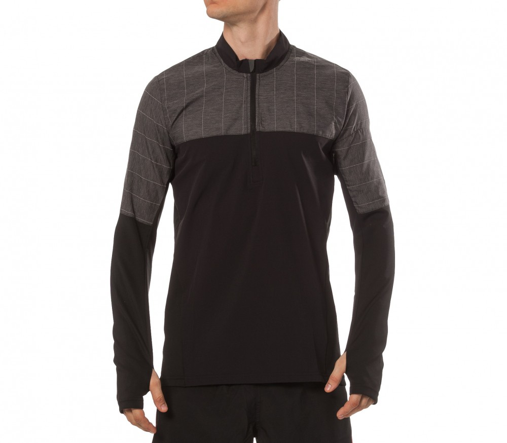 Adidas - Supernova Storm 1/2 Zip men's running top (black)