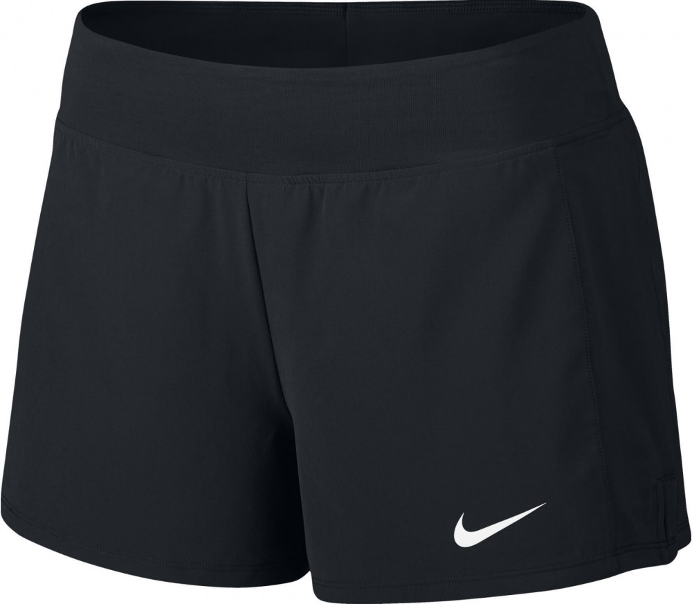Nike - Court Flex Pure women's tennis shorts (black/white)