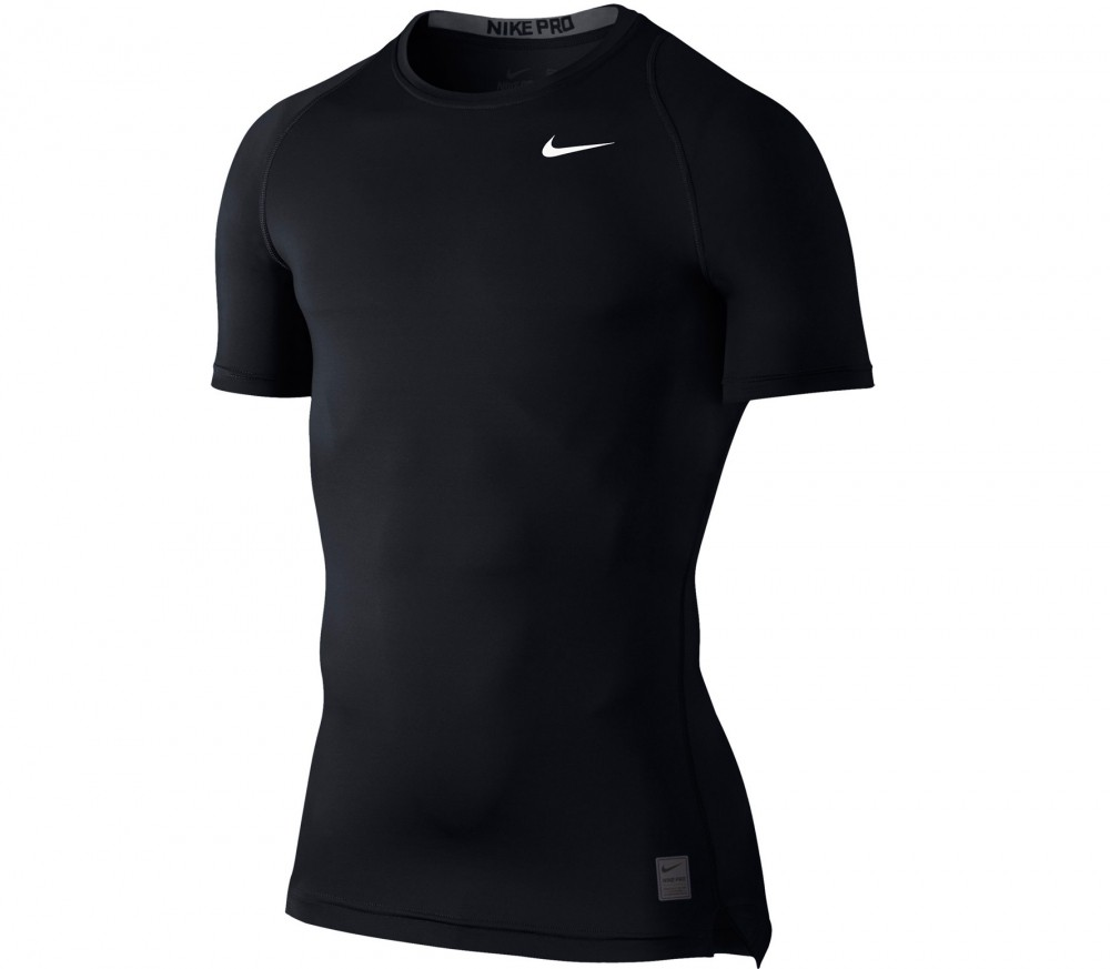 Nike - Cool Comp Shortsleeve training top (black/grey)