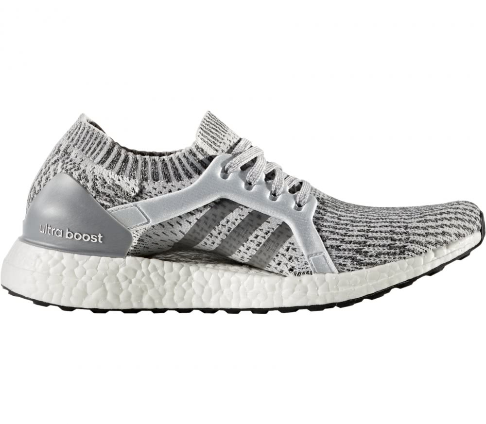 adidas ultra boost x women 39 s running shoes grey white. Black Bedroom Furniture Sets. Home Design Ideas