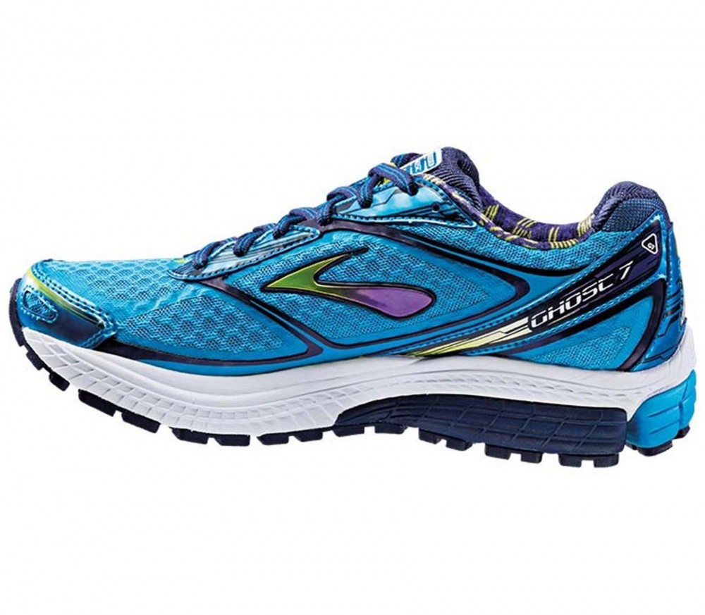 Brooks - Ghost 7 women's running shoes (blue) - buy it at ...