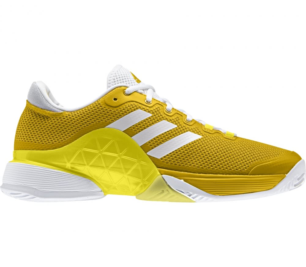 Adidas - Barricade 2017 men's tennis shoes (yellow/white)