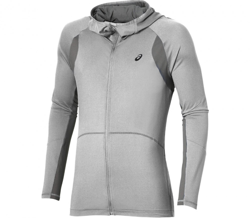 ASICS - Tech Full Zip men's training hoodie (light grey)