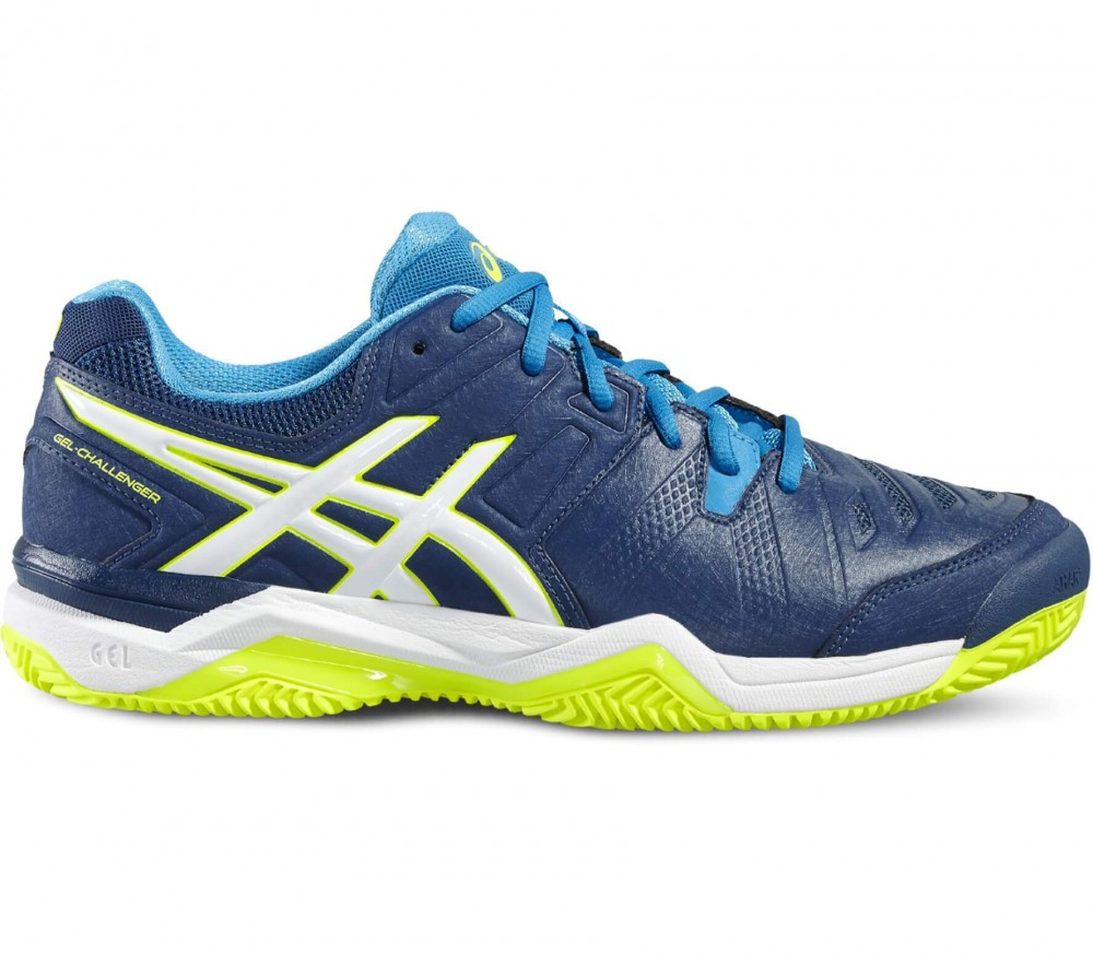 ASICS - Gel-Challenger 10 Clay men's tennis shoes (grey/blue)