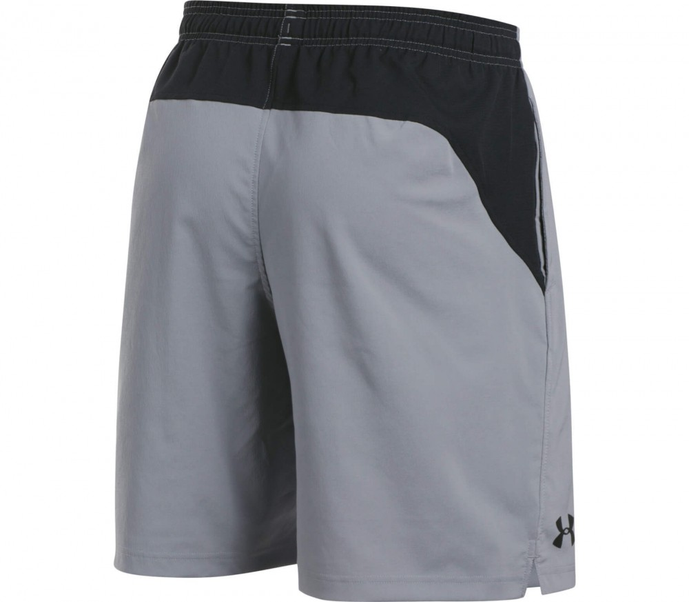 Under Armour - HIIT Woven men's training shorts (grey/black)