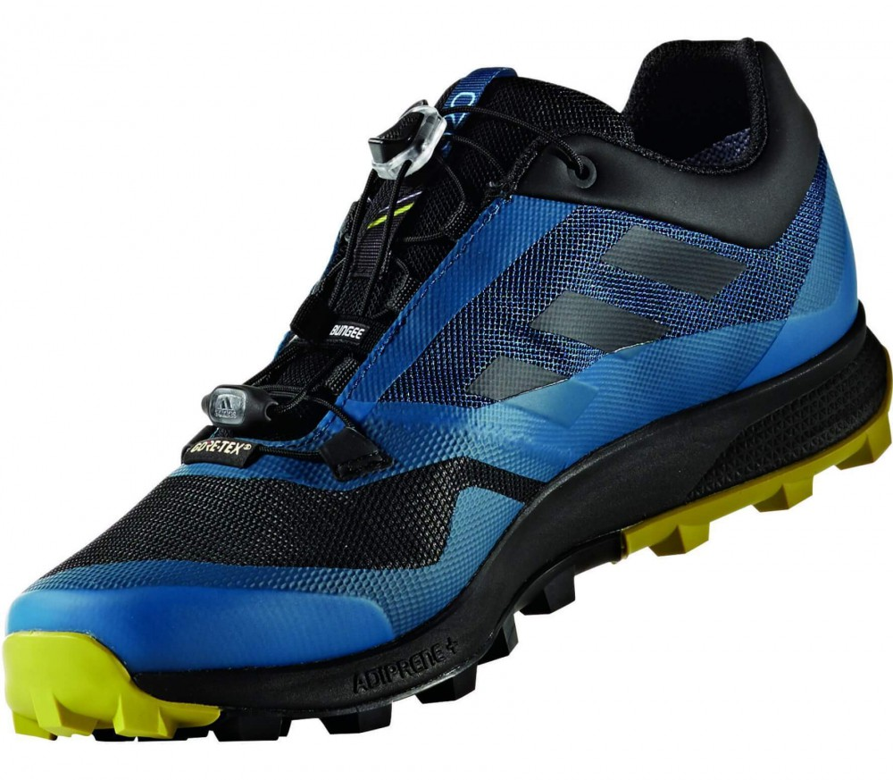 Adidas - Terrex Trailmaker GTX men's trail running shoes (blue/black)