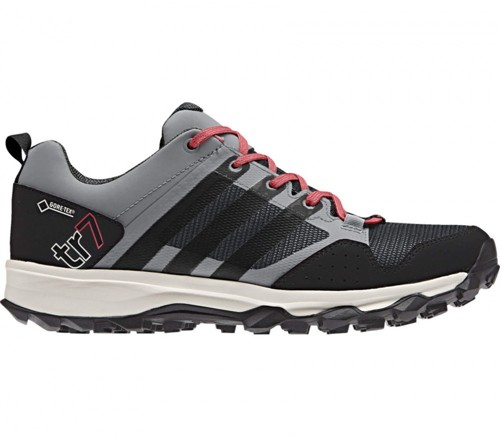 Adidas - Kanadia 7 TR GTX women's running shoes (black/grey)
