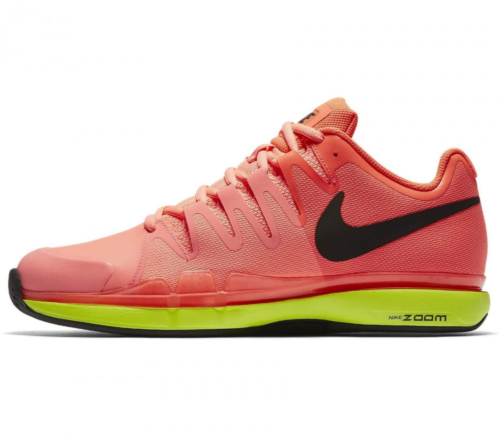 Nike - Zoom Vapor 9.5 Tour Clay men's tennis shoes (orange/yellow)