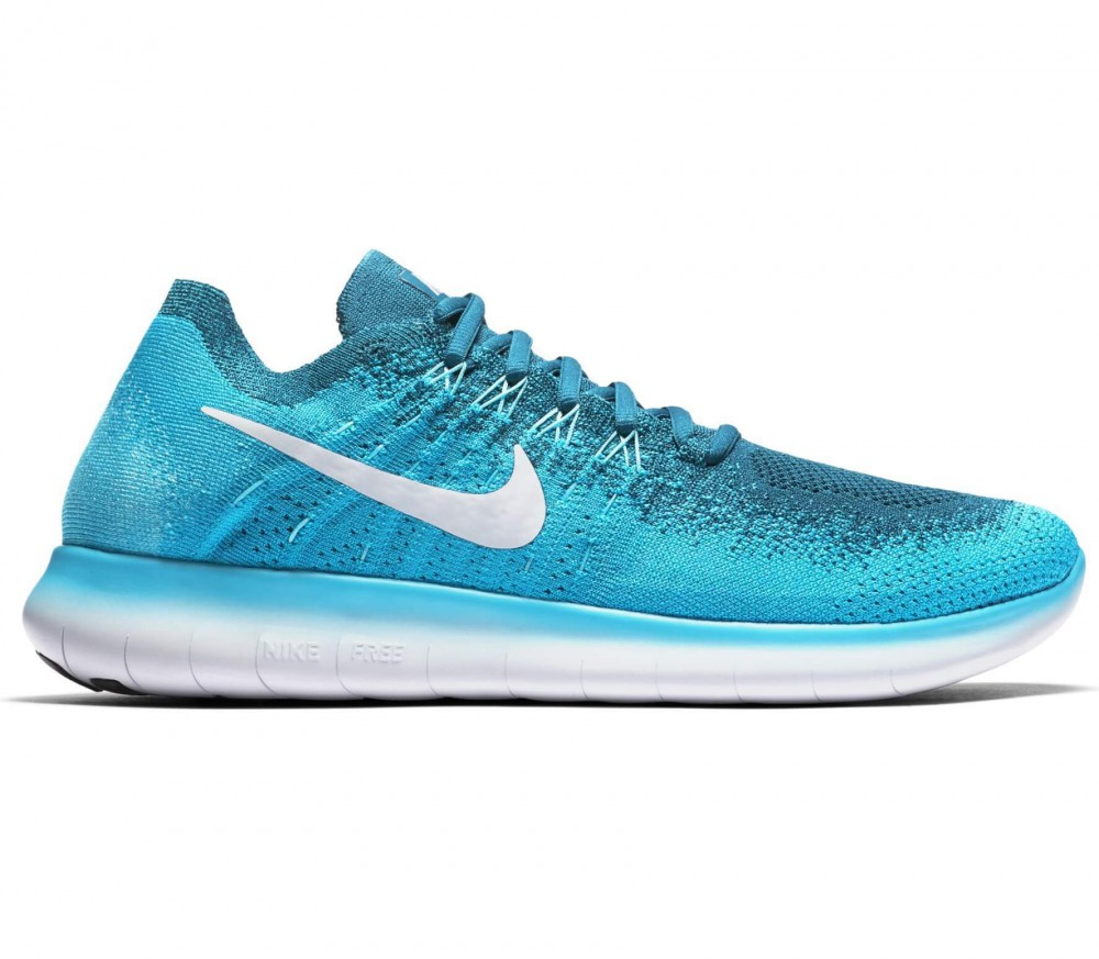 nike free runs light blue