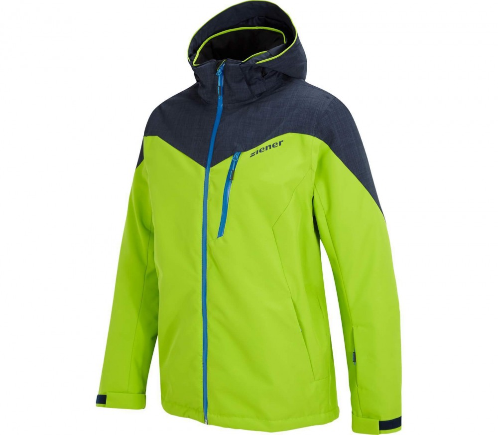 Ziener - Pavlo men's skis jacket (green)