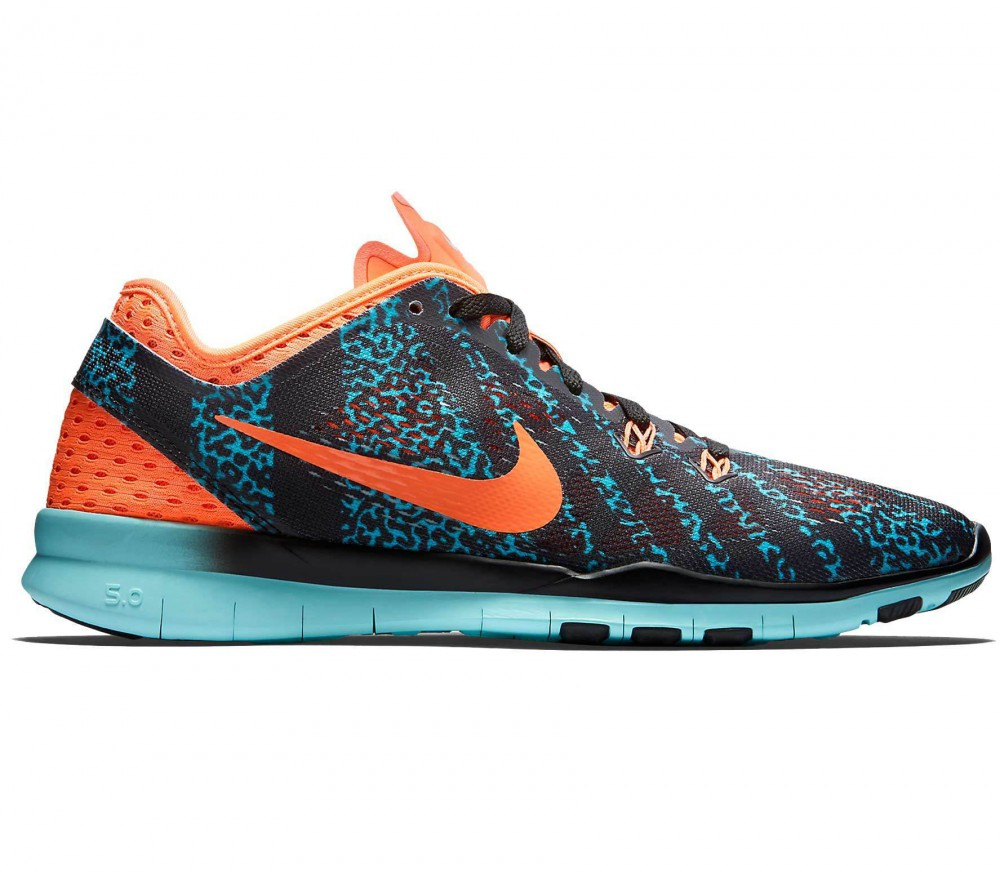 Nike free trainer 5.0 women's leopard print shoes