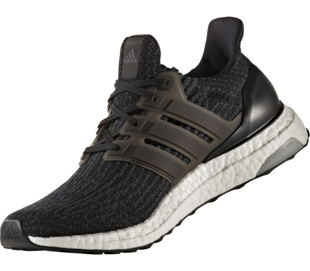 Adidas - Ultra Boost men's running shoes (black/white)