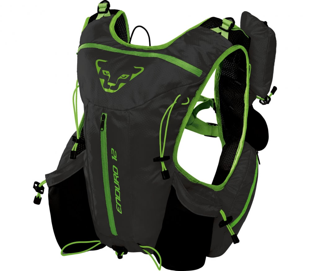 Dynafit - Enduro 12 Trail rucksack (black/green)