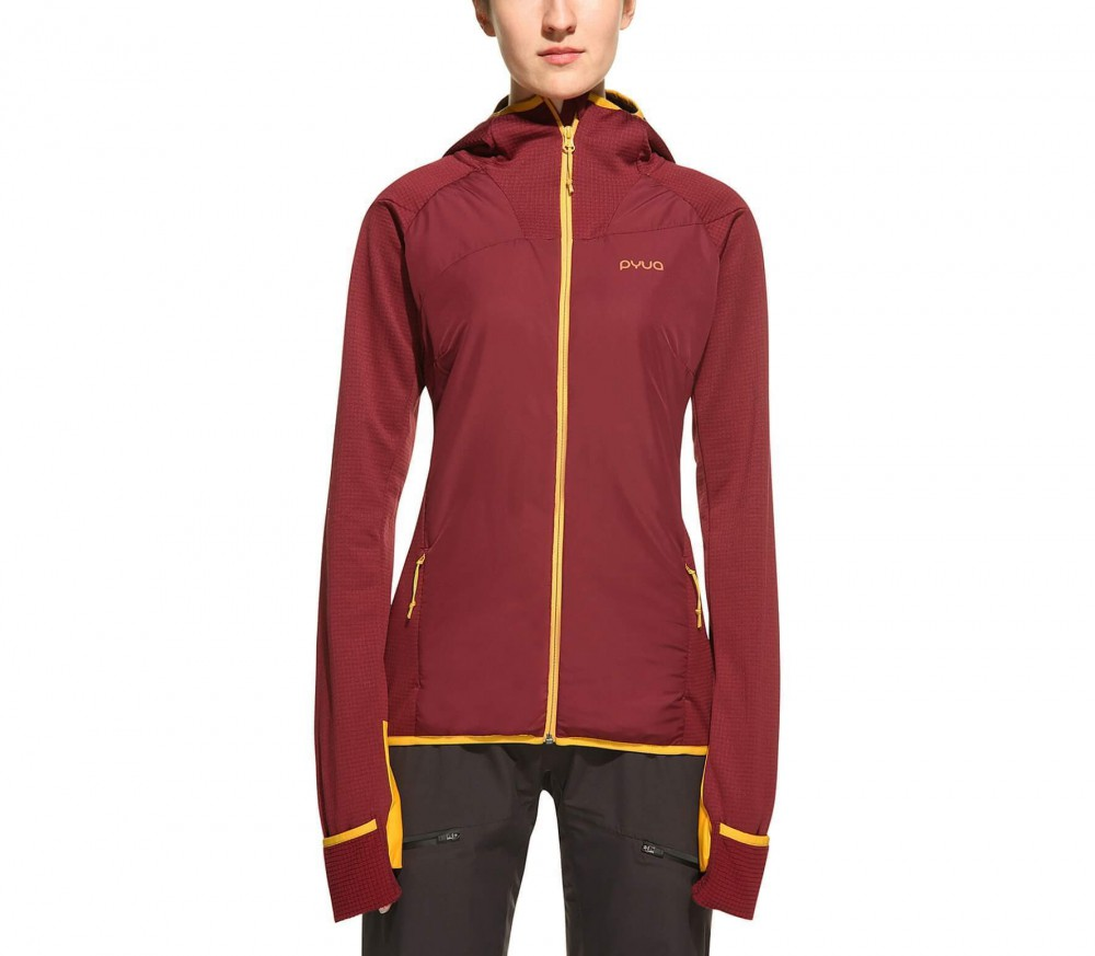 Pyua - Snug Functional women's Power Stretch fleece jacket (red)