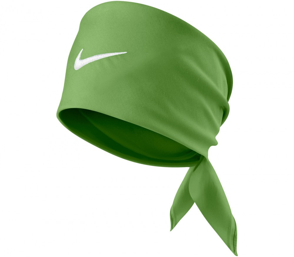 nike tennis swoosh bandana green buy it at the