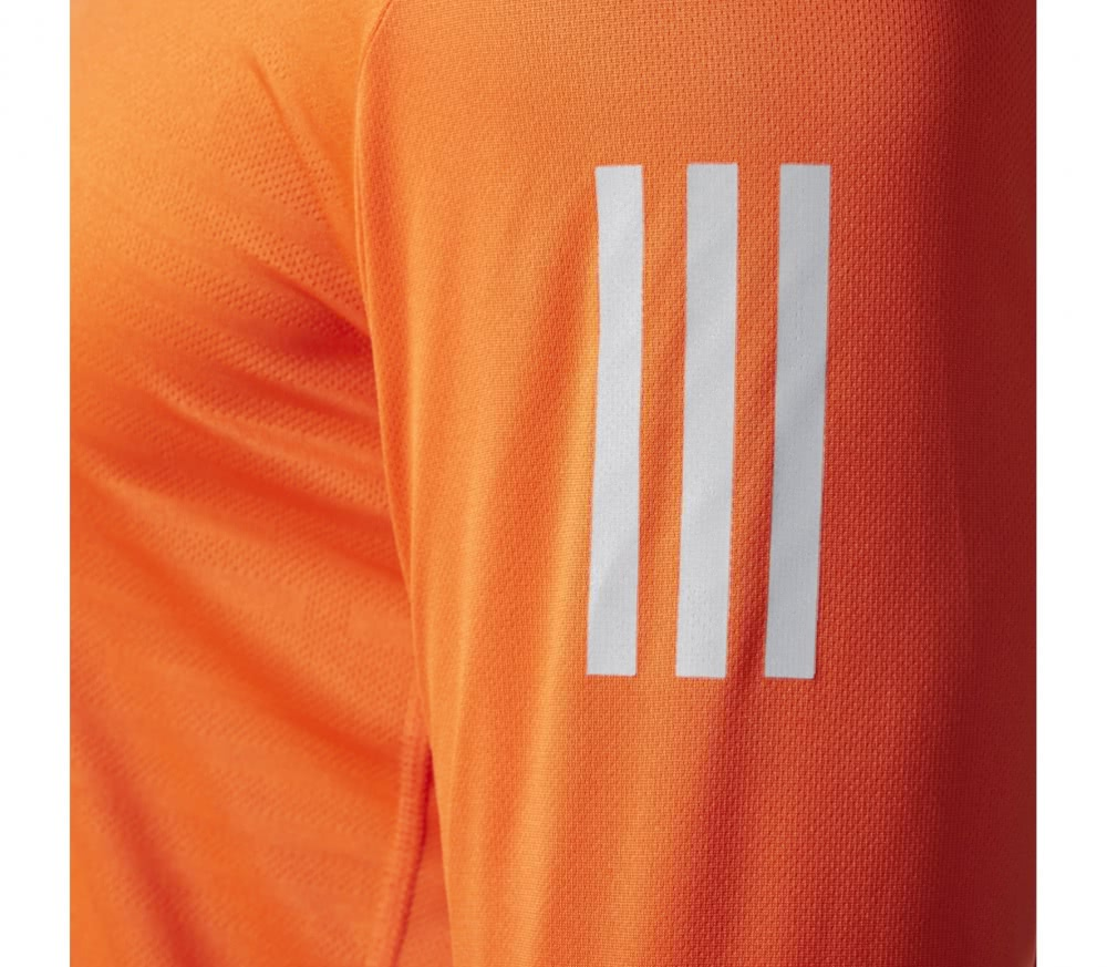 Adidas - Response Longsleeve men's running t-shirt (orange)