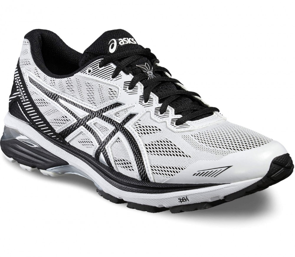 Asics - GT-1000 5 men's running shoes (white/black)