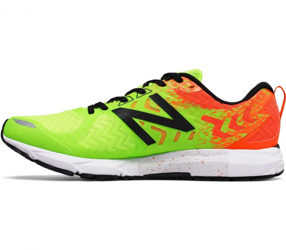 New Balance - Competition 15003 men's running shoes (light green/orange)