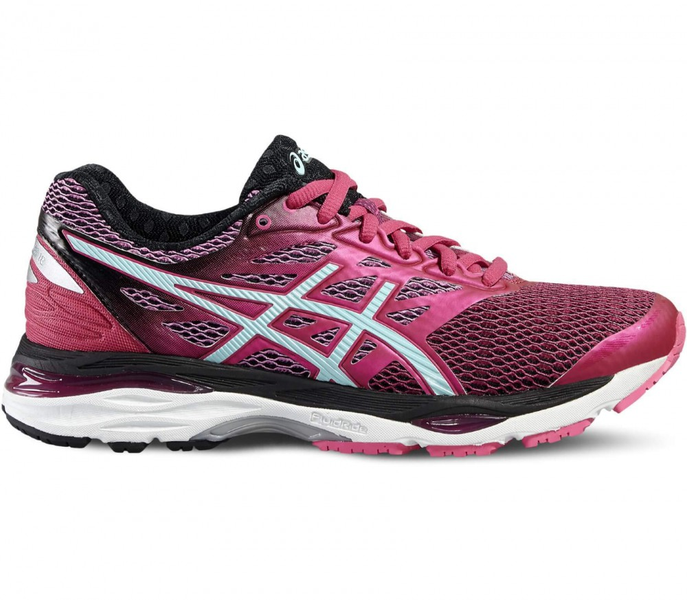 Asics - Gel-Cumulus 18 women's running shoes (pink/black)